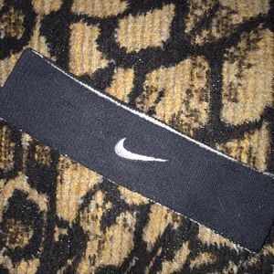 Nike reversible two in one headband